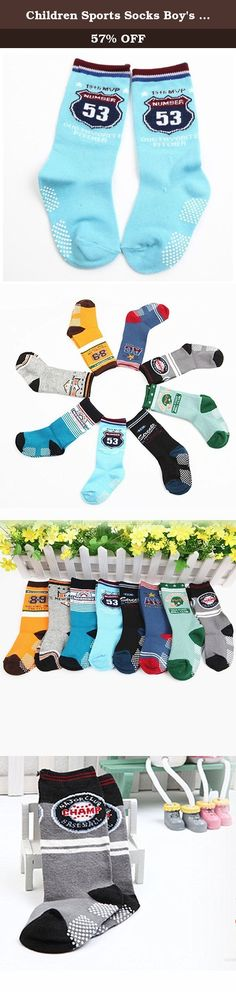 Children Sports Socks Boy's Cartoon Cotton Crew Neck Socks 8 Pack (3Y-6Y). Materail: 95% cotton spandex,these socks will keep little toes warm in style. Chird Cotton Socks, Recommended foot long 15-19cm (3-6 years old) toddler wear Machine wash with warm water, Tumble dry low. package included 8 pairs in random colors, fits Ages 3-6 Years Soft and comfortable cotton fabric on your baby's little feet, really a great gift for your lovely baby The 8 pair child boy/girl socks are ideal for…