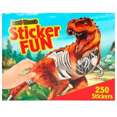 Depesche 3359 Colouring Book Sticker Fun Dino World Multi-Coloured Stickers Cool, Coloring Books, Comic Books, Comics, World, Fun, Gifts, Products, Cool Stickers