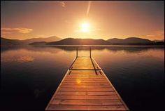 Morning Sunrise on Lake Placid  www.lakeplacidlodge.com