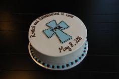 Baby Dedication cake-like the design