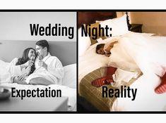 Funny Wedding Meme, Wedding Humor, Expectation Reality, Wedding Night, Home Decor, Humor, Room Decor, Home Interior Design, Decoration Home