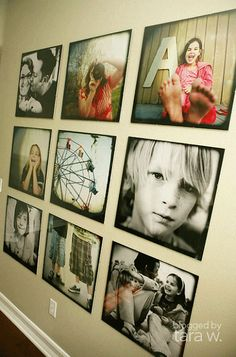 Never Without: Family Photo Wall