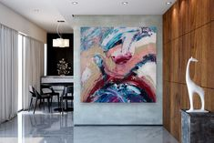 Large Painting on Canvas,Extra Large Painting on Canvas,painting wall art,large interior decor,large art on canvas FY0092