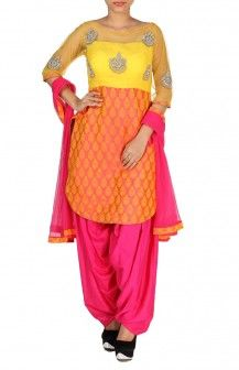 Short Top With Patialas  Rs. 7,900