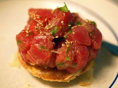 Food So Good Mall: Hand Cut Tuna Tartar with Wasabi Vinaigrette