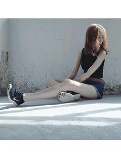 ipyi│NIKEのスニーカーコーディネート-WEAR  (via http://wear.jp/ipyi/coordinate/1574447/ )