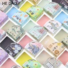 Retro Chinese Tyle Poetic Flavour Decorative Washi Tape Diy Scrapbooking Masking Tape School Office Supply Escolar Papelaria #Affiliate