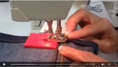 muiiiiiito legal para costurar jeans em máquina doméstica sem quebrar agulha.
