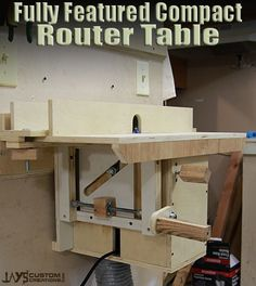 French Cleat Router Table by Jay Bates of Jay Custom Creations
