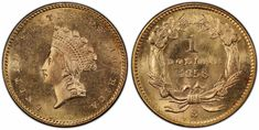 1856 S $1 Gold PCGS MS65+ from the SS Central America sunken treasure will be displayed at the ANA World's Fair of Money in Philadelphia, Pennsylvania, August 14-18, 2018...finest known for the grade with a single MS64+ as the next highest grade. The highest NumisMedia Market value listed is in MS64 at $42,500....