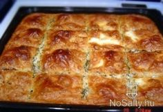 Húsos burek Hungarian Desserts, Hungarian Cuisine, Hungarian Recipes, Meat Recipes, Baking Recipes, Snack Recipes, Snacks, European Dishes, Good Foods To Eat