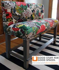 Custom Parsons Style Upholstered Counter Height by ShopSpacePlace, $875.00
