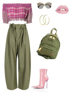 """""""Untitled #244"""" by stylistrr on Polyvore featuring STELLA McCARTNEY, Apiece Apart, Moschino and Dyrberg/Kern"""
