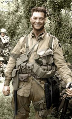 American Soldier, France, 1944: