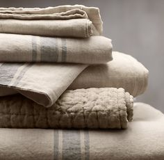 elorablue:  Belgian Linen: Restoration Harware