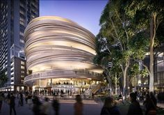 The Darling Exchange by Kengo Kuma