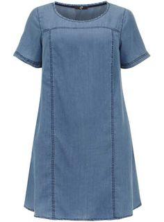 Evans Blue Denim Tunic