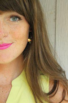 NYX Shocking Pink matte lipstick Pink Matte Lipstick, Fresh Face, Nyx, What I Wore, Spring Summer Fashion, Locks, Hair Beauty, Make Up, Nails