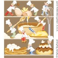 Busy Baking cakes