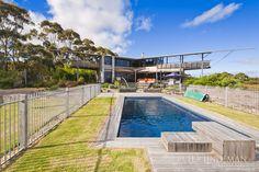 Outdoor pool, outdoor living, modern design, rural, lifestyle, Bellarine, Geelong, Peter Lindeman