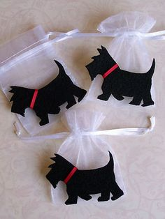 Scottie Dog Party Favor Bags   eBay