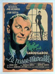 Garou-Garou, le passe-muraille est un film français réalisé par Jean Boyer et sorti en 1951. Il est inspiré de la nouvelle Le Passe-muraille de Marcel Aymé.  Le titre de cette œuvre cinématographique de Jean Boyer est fréquemment, mais à tort, abrégé en Le Passe-muraille. Le titre exact du film est bien Garou-Garou, le passe-muraille. On en trouve deux preuves simples et évidentes : la première à la simple vue de l'affiche originale du film [archive] et la seconde dans le générique…