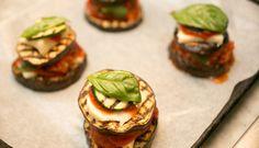 Zucchini Tomato Mozzarella Basil Delight  www.Cookapp.com