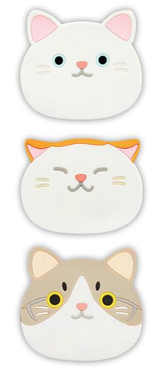Thirsty Kitty Drink Coasters - Our favorite pick this week from our Homey Kitty Collection! These sweet silicone coasters are purrfect for your next party!