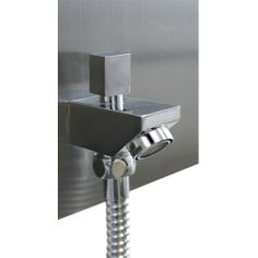 Colonne de douche multi-jets, Stainless brossé, LUX  ***  Multi-jet shower panel, Brushed stainless, LUX