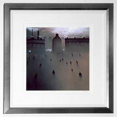 'In mist' by Mackenzie Thorpe. One of my favs!  Pop International Galleries