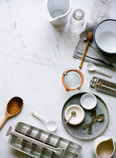 How to Make Homemade Yogurt for KINFOLK // photos by Ali Harper // styling by Ginny Branch // food styling by Katelyn Hardwick Kinfolk Style, Do It Yourself Food, Kinfolk Magazine, Homemade Yogurt, Food Photography Styling, Life Photography, Photography Ideas, Prop Styling, It Goes On