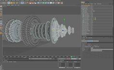 Hydra Cinema4D Modeling