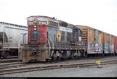 PNWR #1501 Portland & Western Railroad EMD SD7 at Albany, Oregon