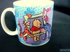 Mug POOH PIGLET EEYORE TIGGER Disney Large 1997 Coffee Cup Free Priority Ship/
