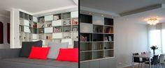 bibliothèque sur mesure Shelving, Bookcase, Corner, Architecture, Home Decor, Shelves, Arquitetura, Shelving Racks, Bookshelves