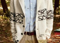 tommy hilfiger spectacles cardigan. #wishlist