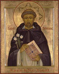 Dominic and Dominican Order Catholic Kids, Catholic Priest, Catholic Saints, Patron Saints, Roman Catholic, Religious Icons, Religious Art, Catholic Orders, Dominican Order