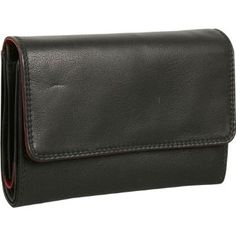 Derek Alexander Leather Ladies Medium Cardex - Black/Brandy Derek Alexander Leather. $80.79
