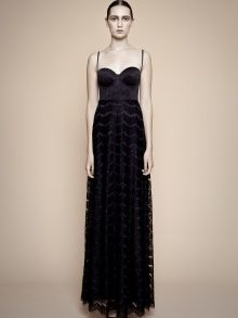 BLACK BUTTERFLY EVENING DRESS | YOSEF PERETZ | NOT JUST A LABEL