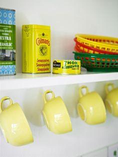 Yellow home.