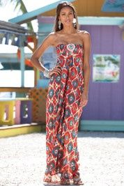 Art Tribal Maxi Dress my-personal-style-pinboard