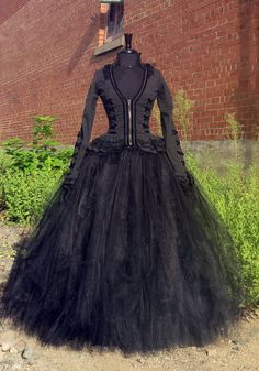 Bellatrix Lestrange Costume Skirt  Full length black tulle skirt for Harry Potter Witch Halloween Costume, Cosplay.  Wicked witch, Hogwarts. by…