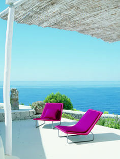 Aqua Collection by Paola Lenti | Outdoor magenta anyone?