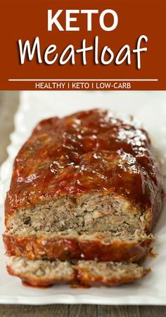 Keto Meatloaf #ketodiet #recipes