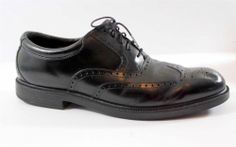 Rockport Mens Dress Shoes 13 M Leather Wing Tip