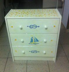 Cassettiera Ikea pitturata