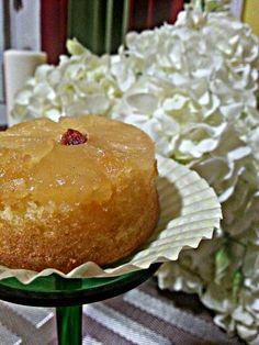 """Pineapple upside down cake cupcake"""