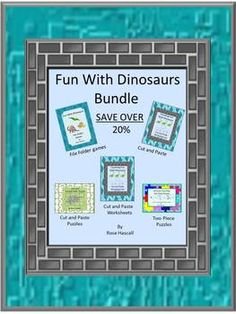 Dinosaurs have always been a fascination for children. The Dinosaur graphics used in the products in this Dinosaur Bundle will satisfy that ...