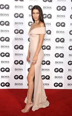 Bella Hadid at the GQ Men Of The Year Awards 2016 at London's Tate…