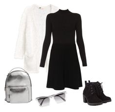 """Без названия #21"" by shadrintseva on Polyvore featuring мода, Paule Ka, MANGO, Prism и Red Herring"